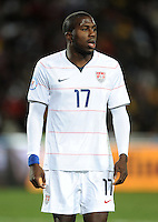 Jozy Altidore of USA. Brazil defeated USA 3-2 in the FIFA Confederations Cup Final at Ellis Park Stadium in Johannesburg, South Africa on June 28, 2009.