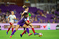 Orlando, FL - Saturday August 25, 2018:  Alex Morgan, Orlando Pride vs Chicago Red Stars at Orlando City Stadium.