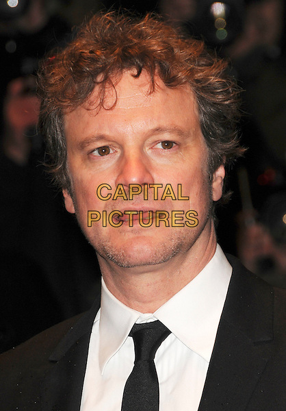 """COLIN FIRTH .At the UK film premiere of """"Easy Virtue"""" during the BFI 52nd London Film Festival, Odeon West End, London, England, October 28th 2008..portrait headshot black tie .CAP/CAS.©Bob Cass/Capital Pictures"""