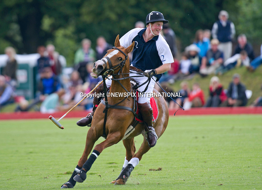 """PRINCE HARRY..Prince Harry played (and lost) in a charity polo match for Strathisla at the Beaufort Polo Club. Harry was watched by his cousins Zara and Peter Phillips. Zara was accompanied by her fiancée Mike Tindall whilst Peter had the whole family out celebrating father's day with wife Autumn and daughter Savannah. Beaufort_19/06/2011..Mandatory Photo Credit: ©Dias/Newspix International..**ALL FEES PAYABLE TO: """"NEWSPIX INTERNATIONAL""""**..PHOTO CREDIT MANDATORY!!: NEWSPIX INTERNATIONAL(Failure to credit will incur a surcharge of 100% of reproduction fees)..IMMEDIATE CONFIRMATION OF USAGE REQUIRED:.Newspix International, 31 Chinnery Hill, Bishop's Stortford, ENGLAND CM23 3PS.Tel:+441279 324672  ; Fax: +441279656877.Mobile:  0777568 1153.e-mail: info@newspixinternational.co.uk"""