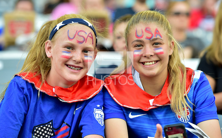 Commerce City, CO - June 2, 2016: The USWNT and Japan play to a 3-3 draw in an international friendly game at Dick's Sporting Goods Park.