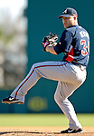 6 March 2007: Atlanta Braves pitcher Joey Devine in Grapefruit League action against the Washington Nationals at Space Coast Stadium in Viera, Florida.<br /> <br /> Mandatory Photo Credit: Ed Wolfstein Photo
