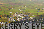 Aerial photos of Milltown County Kerry.