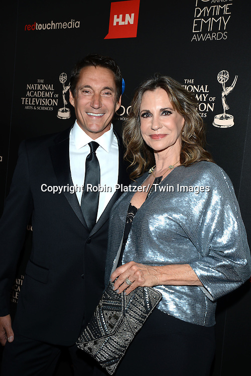 Michael Corbett and Jess Walton  attends The 40th Annual Daytime Emmy Awards on<br />  June 16, 2013 at the Beverly Hilton Hotel in Beverly Hills, California.