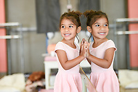 "NWA Democrat-Gazette/CHARLIE KAIJO Selah Songa, 4, dances during a ballet summer mini-camp, Monday, July 8, 2019 at Radiance Ballet studio in Centerton. <br /> <br /> The studio is holding a three day summer mini-camp this week for three and four year olds. The class introduces youth to the foundations of ballet, and for many students, it's their first time. The class teaches them how their body's move and ways to use their imagination.<br /> <br /> ""[Ballet is] great for sensory input, coordination, balance and focus,"" said Tara Klamm, the studio's director. ""A lot of them it's the first time they've been in a structured class environment."""