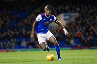 Trevoh Chlobah of Ipswich Town during Ipswich Town vs Preston North End, Sky Bet EFL Championship Football at Portman Road on 3rd November 2018