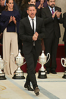 Diego Pablo Simeone during the 2013 Sports National Awards ceremony at El Pardo palace in Madrid, Spain. December 03, 2014. (ALTERPHOTOS/Victor Blanco)