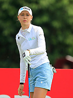 Nelly Korda (USA) in action on the 9th during Round 4 of the HSBC Womens Champions 2018 at Sentosa Golf Club on the Sunday 4th March 2018.<br /> Picture:  Thos Caffrey / www.golffile.ie<br /> <br /> All photo usage must carry mandatory copyright credit (&copy; Golffile | Thos Caffrey)