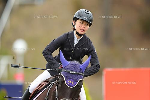 Kotomi Yoshida, <br /> MARCH 26, 2017 - Equestrian : <br /> CSI2 Kakegawa 2017 <br /> Exhibition Top Score <br /> at Tsumagoi Joba Club, Shizuoka, Japan.  <br /> (Photo by YUTAKA/AFLO)