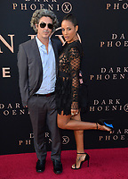 "LOS ANGELES, USA. June 05, 2019: Dania Ramirez & Bev Land at the premiere for ""X-Men: Dark Phoenix"" at Paramount Theatre.<br /> Picture: Paul Smith/Featureflash"