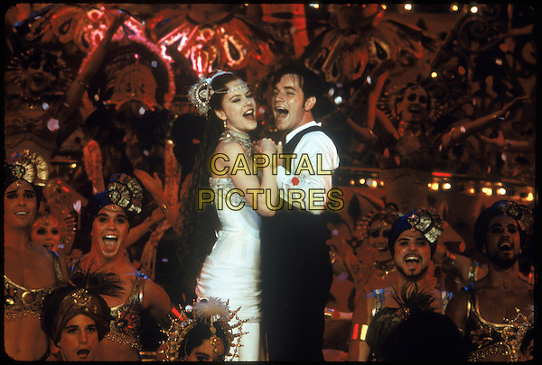 Nicole Kidman & Ewan McGregor.in Moulin Rouge! (2001) .*Filmstill - Editorial Use Only*.CAP/NFS.Supplied by Capital Pictures.