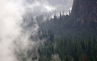 Yosemite Valley and such, after a summer storm.