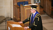 The Vice Chancellor, Prof. Chris Snowden at the degree ceremony, University of Surrey.
