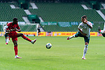 Anthony (Toni) Modeste (FC Koeln #27), Marco Friedl (Werder Bremen #32)<br /> <br /> <br /> Sport: nphgm001: Fussball: 1. Bundesliga: Saison 19/20: 34. Spieltag: SV Werder Bremen vs 1.FC Koeln  27.06.2020<br /> <br /> Foto: gumzmedia/nordphoto/POOL <br /> <br /> DFL regulations prohibit any use of photographs as image sequences and/or quasi-video.<br /> EDITORIAL USE ONLY<br /> National and international News-Agencies OUT.