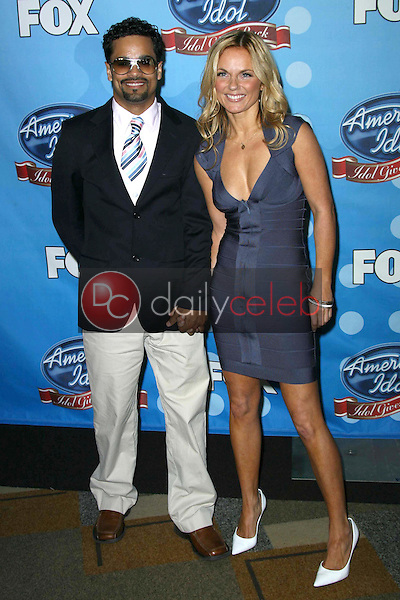 Geri Halliwell and guest<br />