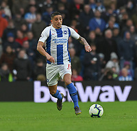 Brighton & Hove Albion's Anthony Knockaert <br /> <br /> Photographer David Horton/CameraSport<br /> <br /> The Premier League - Brighton and Hove Albion v Huddersfield Town - Saturday 2nd March 2019 - The Amex Stadium - Brighton<br /> <br /> World Copyright © 2019 CameraSport. All rights reserved. 43 Linden Ave. Countesthorpe. Leicester. England. LE8 5PG - Tel: +44 (0) 116 277 4147 - admin@camerasport.com - www.camerasport.com
