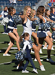 Nevada cheerleaders before their NCAA college football game against San Jose State in Reno, Nev. Saturday, Nov. 11, 2017. (AP Photo/Tom R. Smedes)
