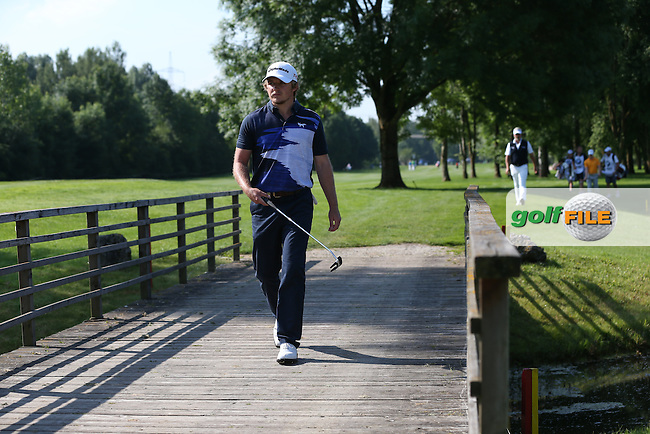 Across the bridge on the 11th comes Eddie Pepperell (ENG) during Round Two of the 2015 BMW International Open at Golfclub Munchen Eichenried, Eichenried, Munich, Germany. 26/06/2015. Picture David Lloyd | www.golffile.ie