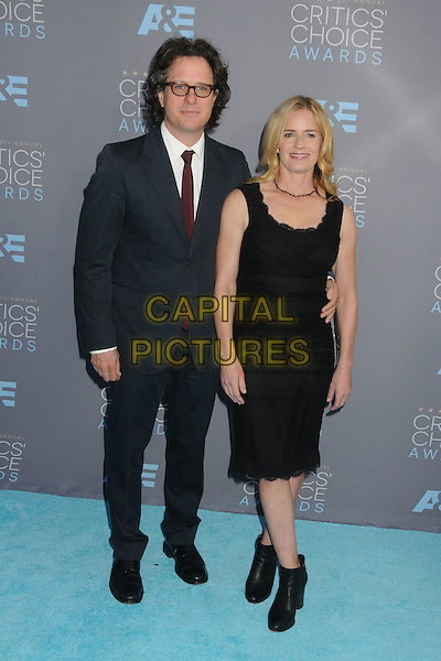 17 January 2016 - Santa Monica, California - Davis Guggenheim, Elizabeth Shue. 21st Annual Critics' Choice Awards - Arrivals held at Barker Hangar. <br /> CAP/ADM/BP<br /> &copy;BP/ADM/Capital Pictures