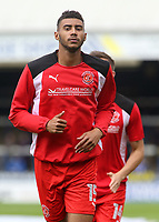 Fleetwood Town's Victor Nirennold during the pre-match warm-up <br /> <br /> Photographer David Shipman/CameraSport<br /> <br /> The EFL Sky Bet League One - Peterborough United v Fleetwood Town - Friday 14th April 2016 - ABAX Stadium  - Peterborough<br /> <br /> World Copyright &copy; 2017 CameraSport. All rights reserved. 43 Linden Ave. Countesthorpe. Leicester. England. LE8 5PG - Tel: +44 (0) 116 277 4147 - admin@camerasport.com - www.camerasport.com