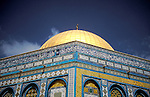 Israel, Jerusalem Old City. The Dome of the Rock&#xA;<br />