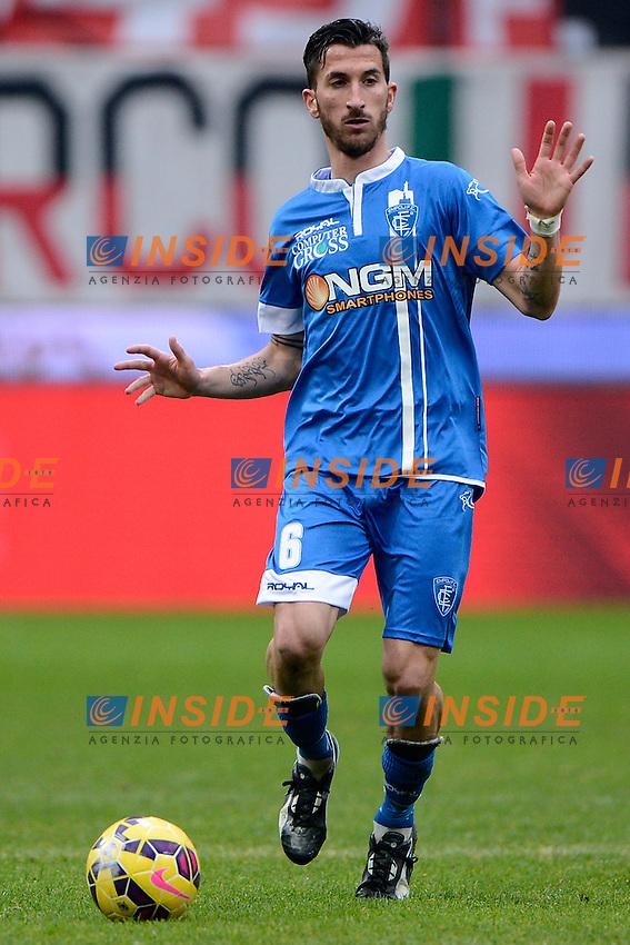 Mirko Valdifiori Empoli<br /> Milano 15-02-2015 Stadio Giuseppe Meazza - Football Calcio Serie A Milan - Empoli. Foto Giuseppe Celeste / Insidefoto