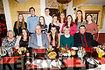Ashley Williams celebrating her 21st birthday in the Brogue Inn on Friday.<br /> Seated l to r: Mary and Claire O'Mahoney, Martin, Ashley and Marie Williams and Pat Brosnan.<br /> Back l to r: Sinead Ryan, Nigel Williams, Ciara O'Connor, Richard and Shauna Williams, Mary O'Sullivan, Claire O'Callaghan, Ann Marie O'Mahoney and Eimear Nolan.