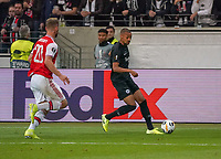 Djibril Sow (Eintracht Frankfurt) gegen Shkodran Mustafi (Arsenal London) - 19.09.2019:  Eintracht Frankfurt vs. Arsenal London, UEFA Europa League, Gruppenphase, Commerzbank Arena<br /> DISCLAIMER: DFL regulations prohibit any use of photographs as image sequences and/or quasi-video.