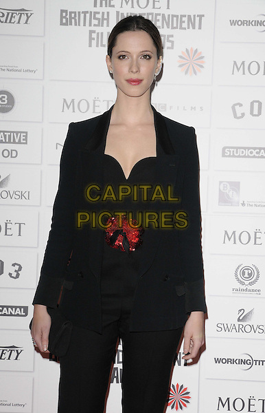 Rebecca Hall.14th Moet British Independent Film Awards 2011, Old Billingsgate, Lower Thames Street, London, England, 4th December 2011.half length black.CAP/CAN.©Can Nguyen/Capital Pictures.