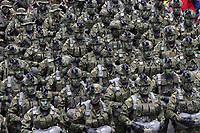 BOGOTA -COLOMBIA , 20- JULIO-2017.Desfile Militar con motivo del 207 Aniversario de la Independencia  Nacional . / Military Parade on the occasion of the 207th Anniversary of National Independence.Photo: VizzorImage / Felipe Caicedo / Staff