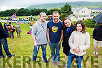 Pictured at the Cahersiveen races on Sunday were l-r Rory McCarthy, Mike O'Driscoll, June O'Connell & Sadhbh Cooney.