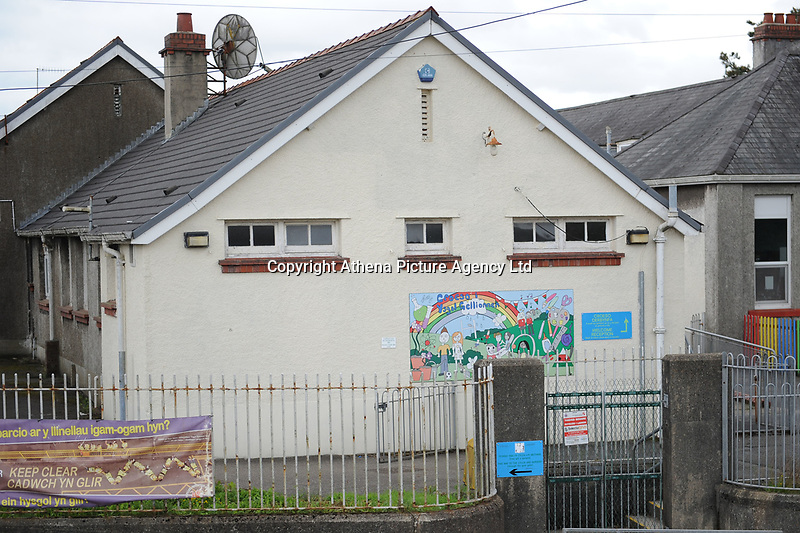 Pictured:  A General view of Ysgol Gymraeg Gellionnen.<br />Re: Primary school head teacher Rhian De Souza has admitted making indecent photographs of children.<br />43 year old DeSouza, has been suspended from her job at Ysgol Gymraeg Gellionnen in Clydach, near Swansea.<br />Letters have been sent to parents by the school's governors, assuring them that the case does not relate to any current or former pupils, or at any school De Souza has taught at.<br />She admitted two charges at Llanelli Magistrates' Court.