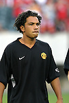 28 July 2004: Kieran Richardson. Glasgow Celtic of the Scottish Premier League defeated Manchester United of the English Premier League 2-1 at Lincoln Financial Field in Philadelphia, PA in a ChampionsWorld Series friendly match..