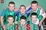 Sports Fun: Members of the Ballydonoghue GAA Soccer Team who played in the Shannonside Youth Club Soccer Game in the Ballybunion Community Centre on Friday night were front l-r: Declan Behan, Billy Joy and Sean O'Connor. Back l-r: Diarmuid Behan, Eric O'Connor and Darren Goggarty.   Copyright Kerry's Eye 2008