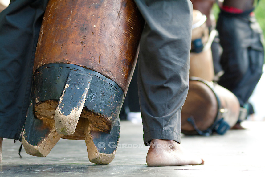 Drum Closeup - Tambours de Brazza