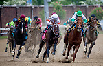 May 4, 2019 : #8 Mitole, ridden by Ricardo Santana, Jr., wins the Churchill Downs on Kentucky Derby Day at Churchill Downs on May 4, 2019 in Louisville, Kentucky. Carolyn Simancik/Eclipse Sportswire/CSM
