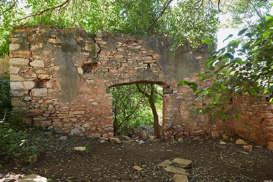 The Remains Of The Godown At Bisezhai, Mengzi (Mengtse).