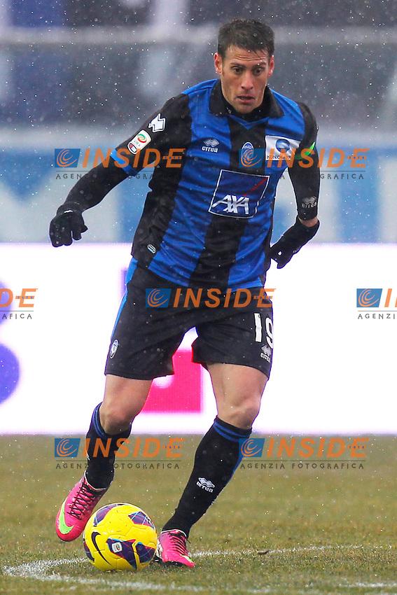"German Denis Atalanta, Bergamo 24/2/2013 .Stadio ""Atleti Azzurri d'Italia"".Football Calcio 2012/2013 Serie A.Atalanta Vs Roma.Foto Marco Bertorello Insidefoto"