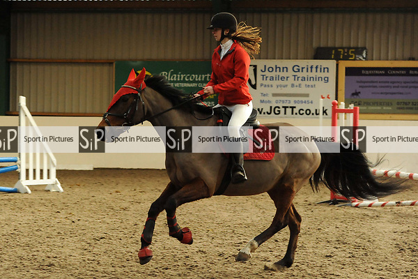 Class 5. Unaffiliated showjumping. Brook Farm Training Centre. Essex. UK. 03/12/2017. ~ MANDATORY Credit Ellen Szalai/Sportinpictures - NO UNAUTHORISED USE - 07837 394578
