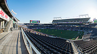 Orlando, Florida - Sunday, May 8, 2016: Camping World Stadium during a National Women's Soccer League match between Orlando Pride and Seattle Reign FC at Camping World Stadium.