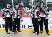 Dawson Creek, BC - Dec 13 2019: Game 9 - USA vs. Russia at the 2019 World Junior A Championship at the ENCANA Event Centre in Dawson Creek, British Columbia, Canada. (Photo by Matthew Murnaghan/Hockey Canada)