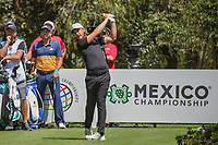 Tommy Fleetwood (ENG) watches his tee shot on 13 during round 1 of the World Golf Championships, Mexico, Club De Golf Chapultepec, Mexico City, Mexico. 3/1/2018.<br /> Picture: Golffile | Ken Murray<br /> <br /> <br /> All photo usage must carry mandatory copyright credit (&copy; Golffile | Ken Murray)
