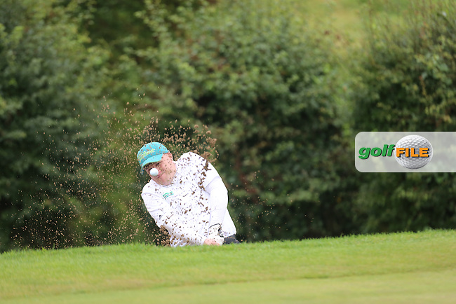 Paul Coey (Mahee Island) during the Ulster Mixed Foursomes Final, Shandon Park Golf Club, Belfast. 19/08/2016<br /> <br /> Picture Jenny Matthews / Golffile.ie<br /> <br /> All photo usage must carry mandatory copyright credit (&copy; Golffile | Jenny Matthews)