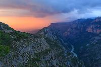 Europe-France-VERDON-gorge-canyon-Lac-De-Sainte-Croix-Moustiers-St-Marie-Castelane-Colmars