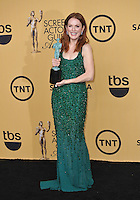 Julianne Moore at the 2015 Screen Actors Guild  Awards at the Shrine Auditorium.<br /> January 25, 2015  Los Angeles, CA<br /> Picture: Paul Smith / Featureflash