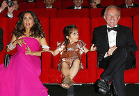 "Salma Hayek, daughter & husband attend the ""The Prophet' screening - 67th Cannes Film Festival"