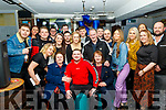 Christopher Lynch from Tralee, seated centre celebrated his 21st birthday last Saturday night in Linnanes bar, Tralee along with many friends and family.