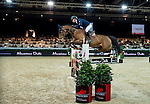 Pieter Devos of Belgium riding Equipharma Dax van 'Dabdijhoev competes at the Longines Speed Challenge during the Longines Hong Kong Masters 2015 at the AsiaWorld Expo on 13 February 2015 in Hong Kong, China. Photo by Juan Flor / Power Sport Images