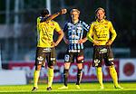 Uppsala 2015-05-21 Fotboll Superettan IK Sirius - Mj&auml;llby AIF :  <br /> Mj&auml;llbys Kwame Bonsu deppar under matchen mellan IK Sirius och Mj&auml;llby AIF <br /> (Foto: Kenta J&ouml;nsson) Nyckelord:  Superettan Sirius IKS Mj&auml;llby AIF depp besviken besvikelse sorg ledsen deppig nedst&auml;md uppgiven sad disappointment disappointed dejected