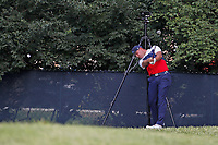 Gary Woodland (USA) tees off on the 9th hole during the first round of the 100th PGA Championship at Bellerive Country Club, St. Louis, Missouri, USA. 8/9/2018.<br /> Picture: Golffile.ie | Brian Spurlock<br /> <br /> All photo usage must carry mandatory copyright credit (© Golffile | Brian Spurlock)